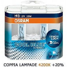 2 LAMPADE OSRAM H8 COOL BLUE INTENSE 4200K