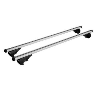 Yuro, coppia barre portatutto in alluminio M CM 120