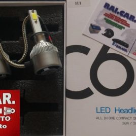 KIT XENON LED FULL CREE H7 H4 H1 36W 3800LUMEN