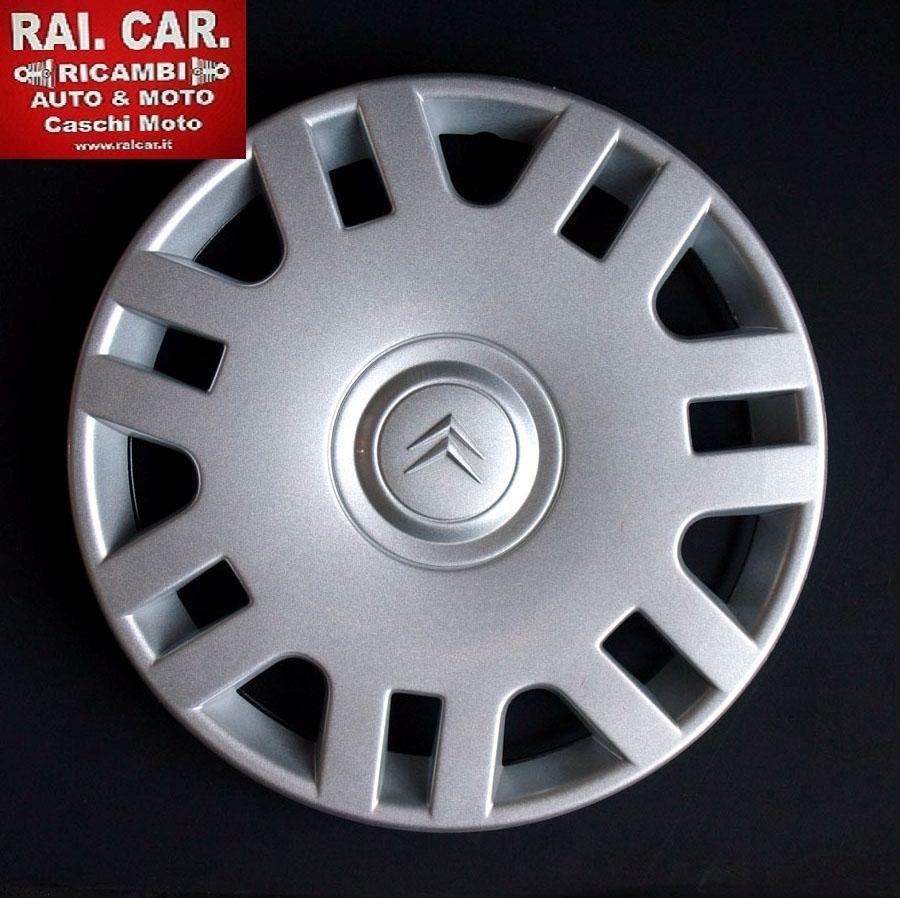 SET 4 PZ COPRICERCHI CITROEN C1 C2 C3 R14   RAI.CAR.