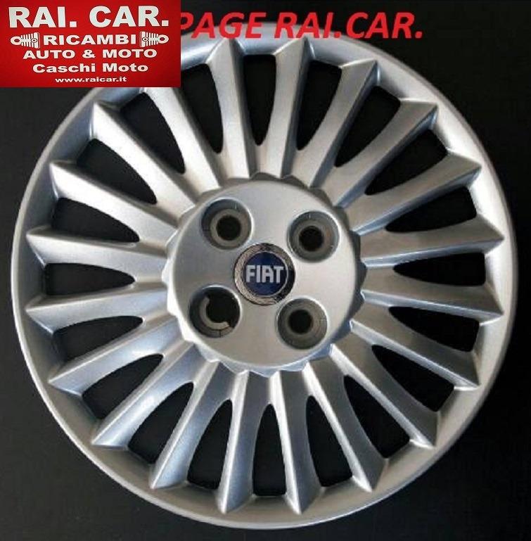 SET 4 COPRICERCHI FIAT GRANDE PUNTO R15   RAI.CAR.