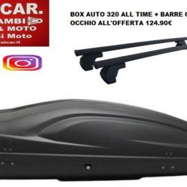 box auto baule barre portatutto