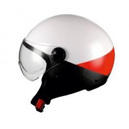 Caschi moto bhr 801 irregular rosso