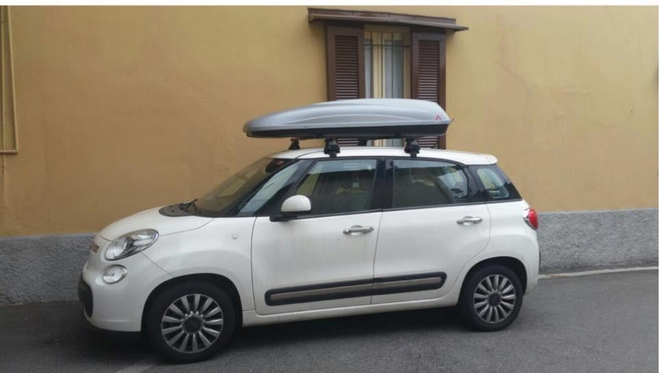 Portabagagli barre portatuttto per Fiat 500