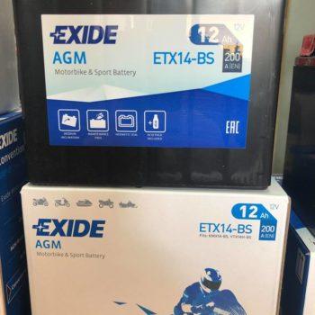 exide etx14bs